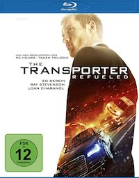 The Transporter Refueled Blu-ray Disc