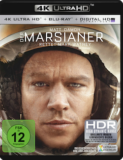 Der Marsianer Ultra HD Blu-ray