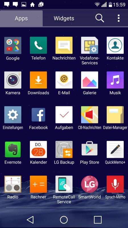 LG Class Screenshot
