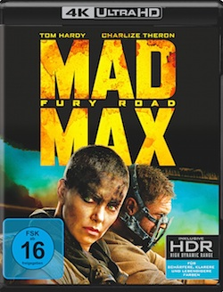 Mad Max Fury Road Ultra HD Blu-ray
