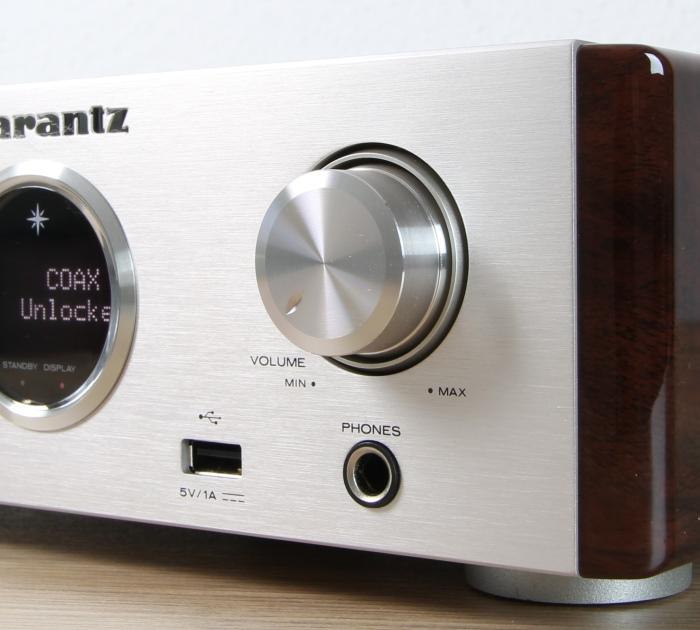 Marantz HD-DAC1 Bedienelemente Front2