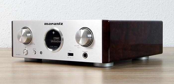 Marantz HD-DAC1 Front Seitlich1