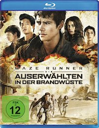 Maze Runner 2 Blu-ray Disc
