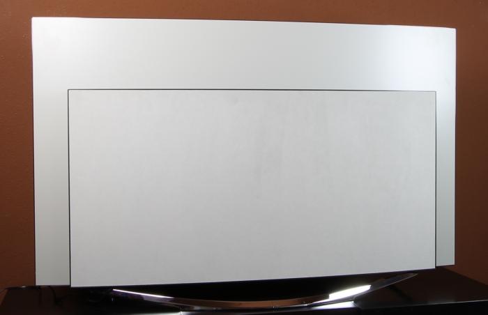 Panasonic TX-65CZW954 Rueckseite Seitlich