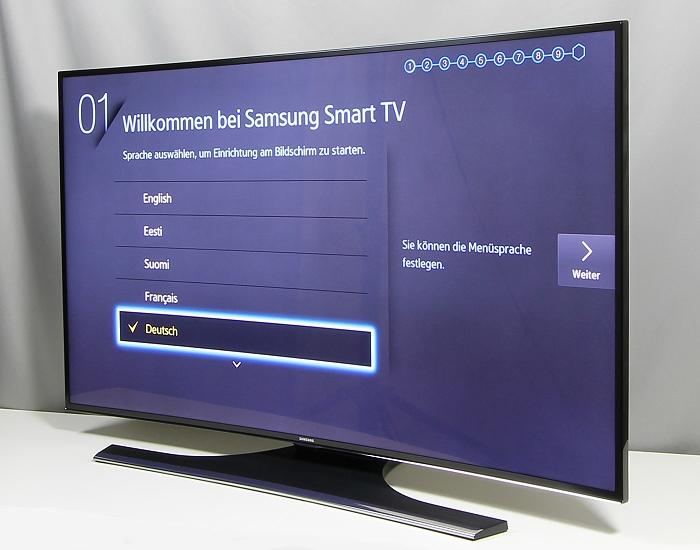 Samsung UE48H6890 Seitenansicht
