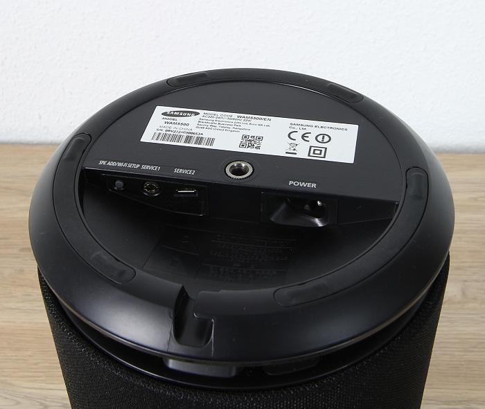 Samsung WAM5500 Anschluesse