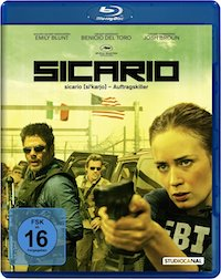 Sicario Blu-ray Disc