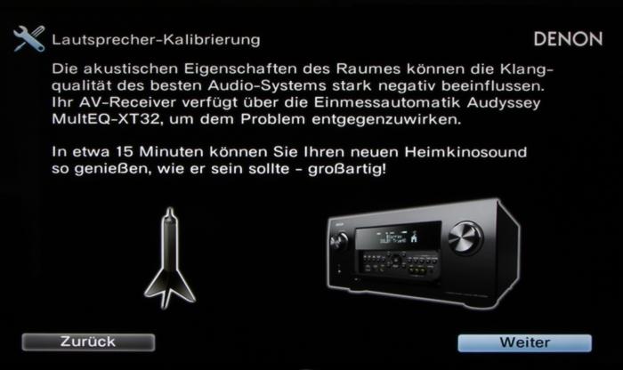 Denon AVR-X7200W Screenshot 10