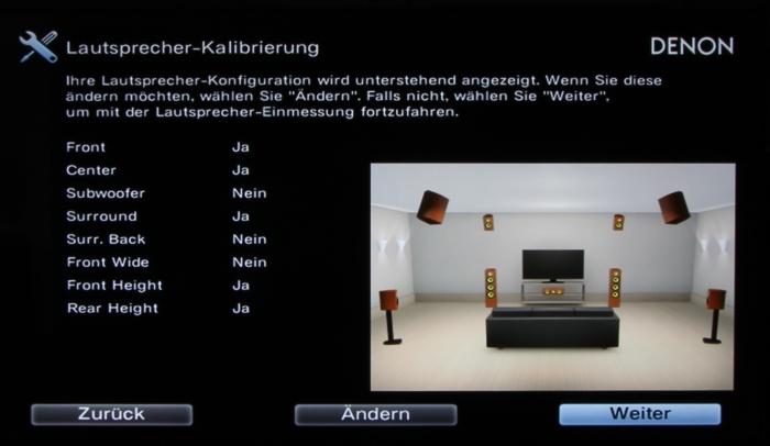 Denon AVR-X7200W Screenshot 11