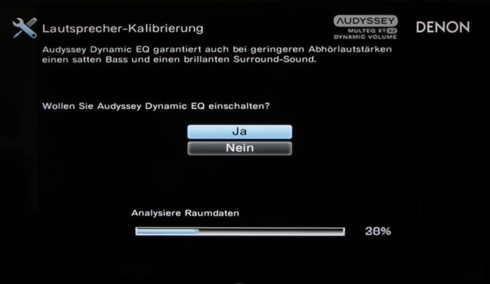 Denon AVR-X7200W Screenshot 14