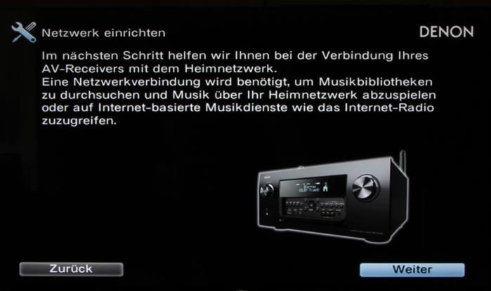 Denon AVR-X7200W Screenshot 15