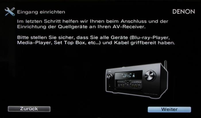 Denon AVR-X7200W Screenshot 16