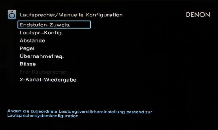 Denon AVR-X7200W Screenshot 21