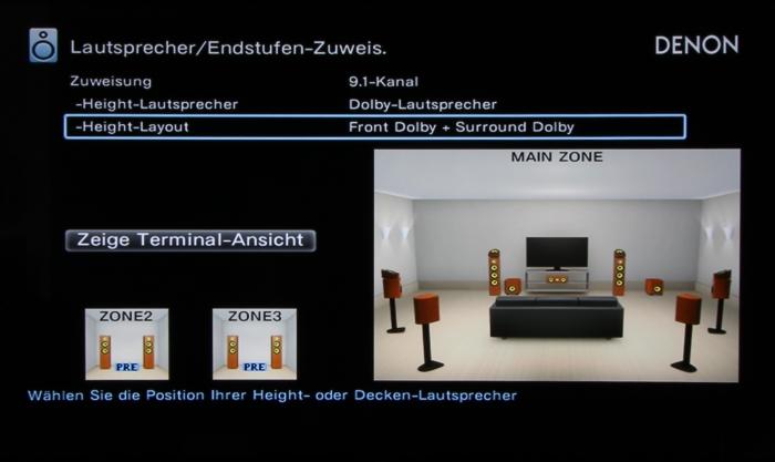 Denon AVR-X7200W Screenshot 23