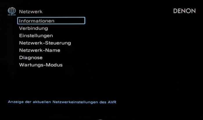 Denon AVR-X7200W Screenshot 24