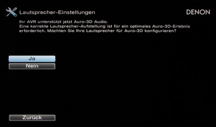 Denon AVR-X7200W Screenshot 4