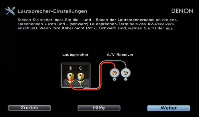 Denon AVR-X7200W Screenshot 7