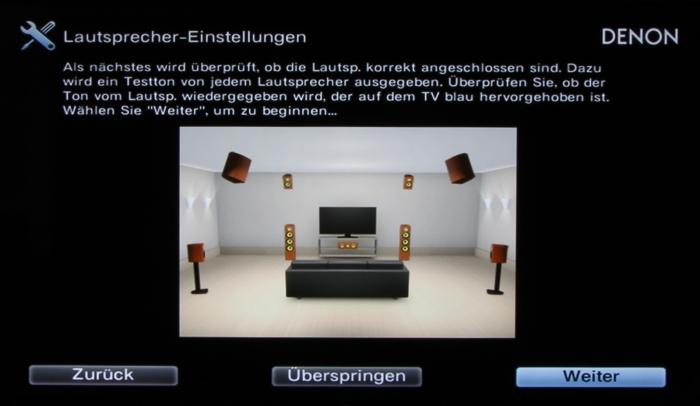 Denon AVR-X7200W Screenshot 9