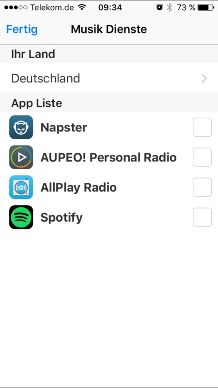 Panasonic Music Streaming App 14