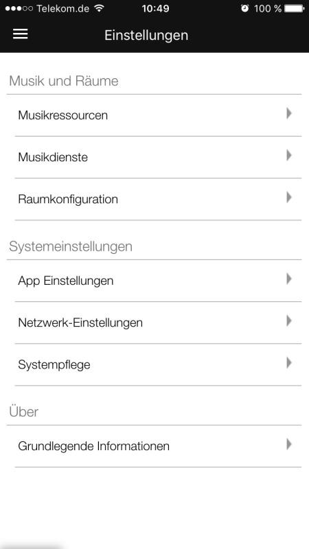 Raumfeld App 24