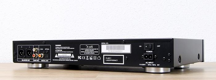 Advance Acoustic X-cd5 Rueckseite Seitlich2