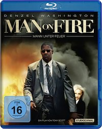 Man on Fire Blu-ray Disc