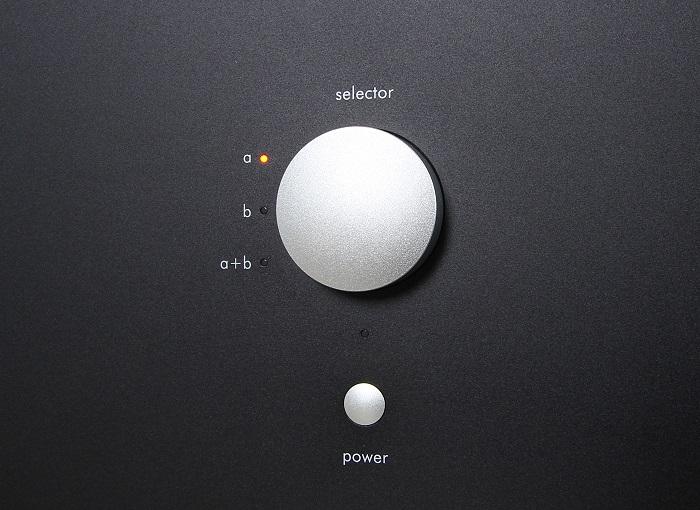 Nubert nuPower a Bedienelemente Front