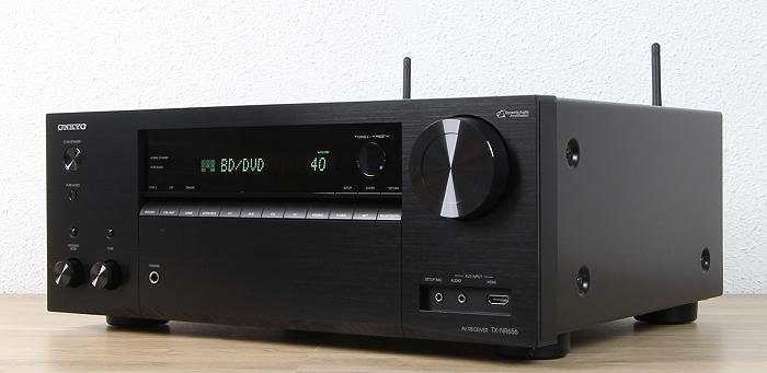Onkyo TX-NR656 Front Seitlich1