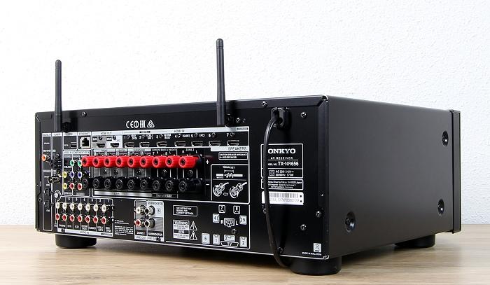 Onkyo TX-NR656 Rueckseite Seitlich1