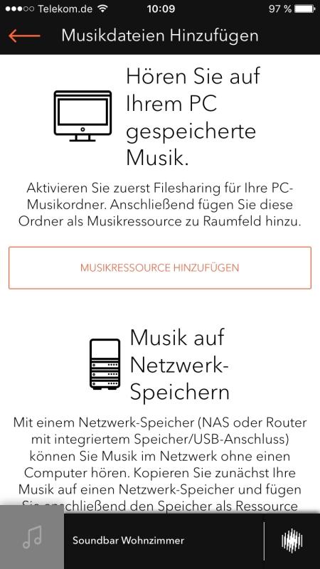 Raumfeld App 14