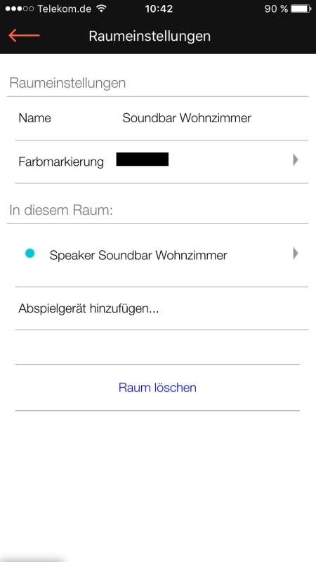 Raumfeld App 18