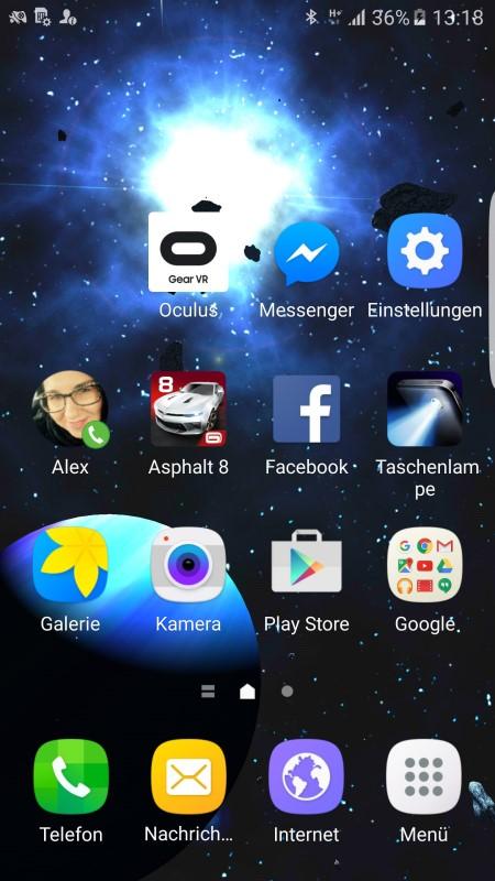 Samsung Galaxy S6 Edge Screenshot II