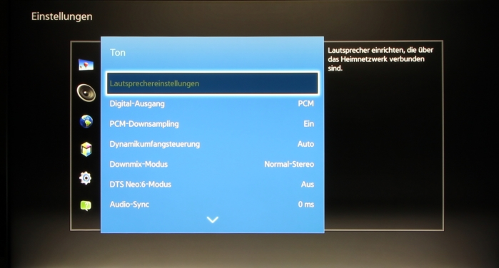 Samsung UBD-K8500 Screenshot 8