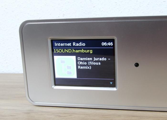 Auna KR200 Display