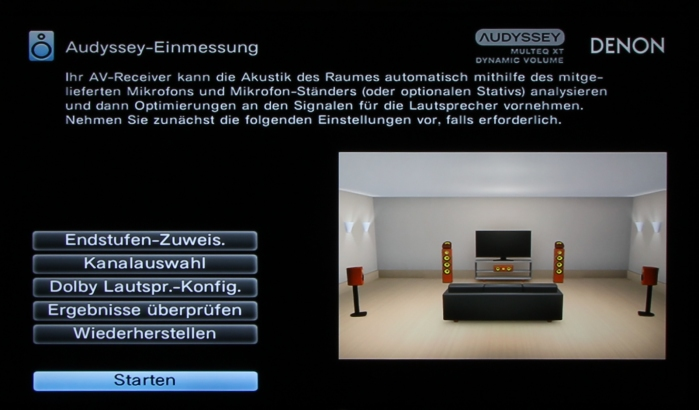 Denon AVR-X2300W Screenshot 29