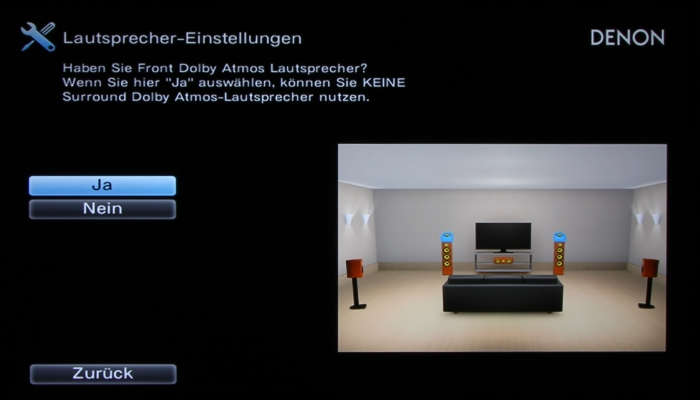 Denon AVR-X2300W Screenshot 6