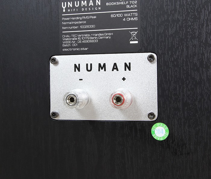Numan Octavox 702 Anschluesse Rueckseite
