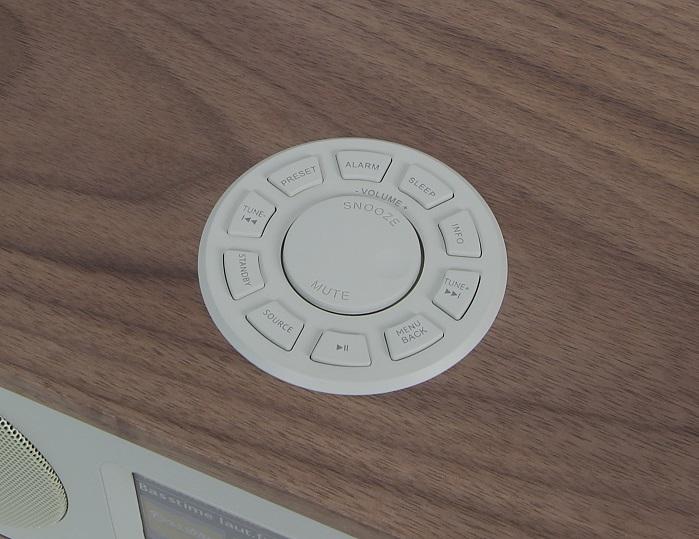 Numan One 2.1 Bedienelemente Oberseite