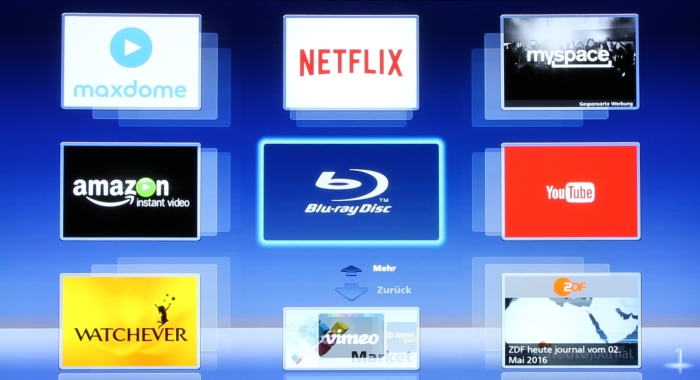 Panasonic DMP-UB900 Screenshot 4
