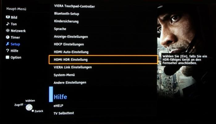 Panasonic HDR OLED 1