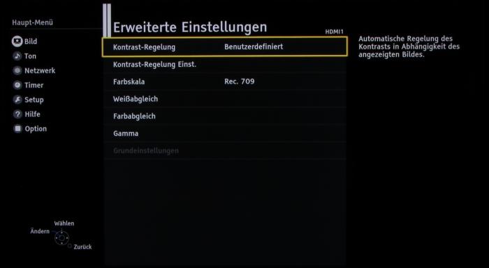 Panasonic TX-65DXW784 Screenshot 14