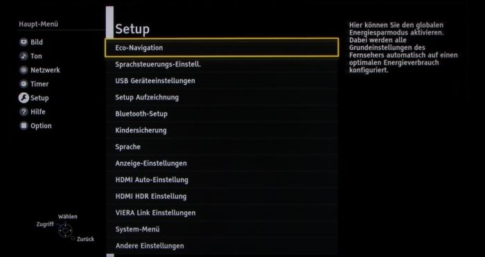 Panasonic TX-65DXW784 Screenshot 20