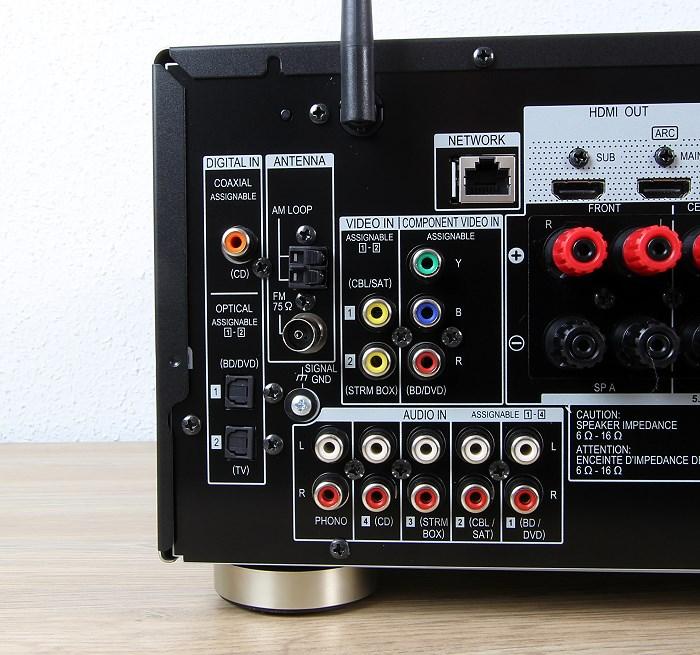 Pioneer VSX-1131 Anschluesse Rueckseite1
