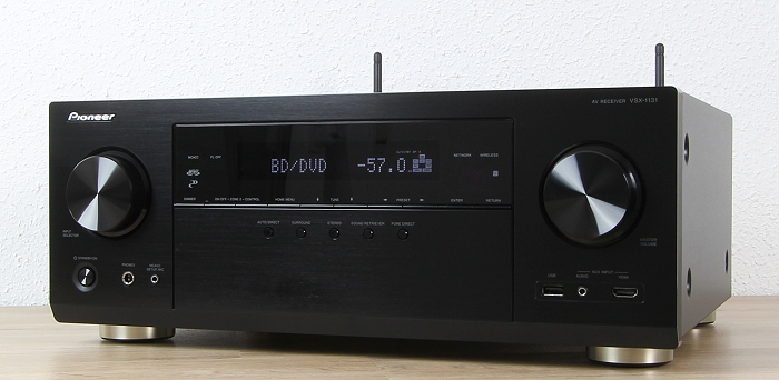 Pioneer VSX-1131 Front Seitlich2
