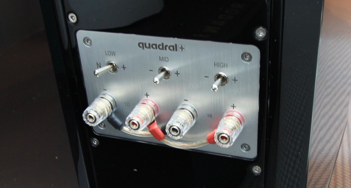 Quadral Aurum Vulkan 9 Klangregelung