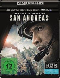 San Andreas Ultra HD Blu-ray