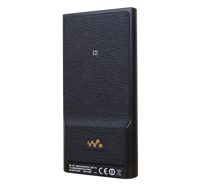 Sony NW-ZX2 Rueckseite Seitlich