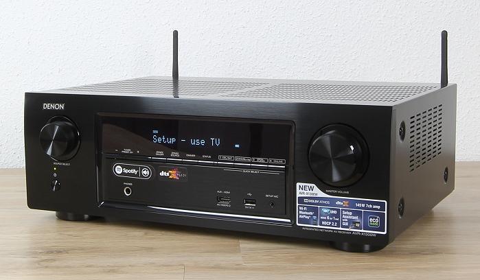 Denon AVR-X1300W Front Seitlich2