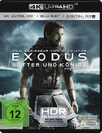 Exodus Ultra HD Blu-ray