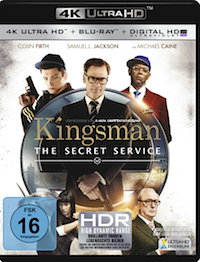 Kingsman - The Secret Service Ultra HD Blu-ray